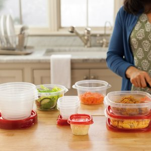 $9.98Rubbermaid TakeAlongs Food Storage Containers, 40 Piece Set