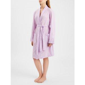 Derek Rose淡紫睡袍