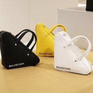 低至5折+额外8折 入手好时机Balenciaga爆款潮包热卖 三角包、Bazar包都参加