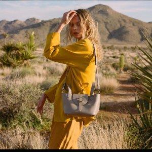 Meli MeloThela Mini Taupe Grey Cross Body Bag for Women