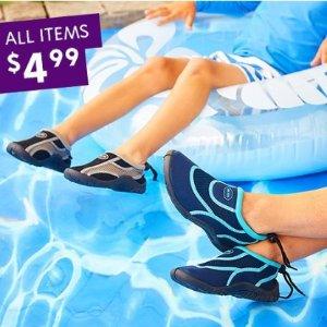 $4.99(原价$24.99)Zulily 儿童户外水鞋/运动鞋促销