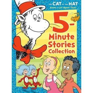 戴帽子的猫对这5分钟的故事集