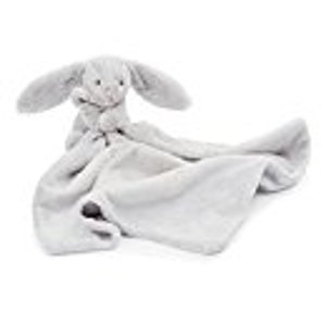 Jellycat Bashful Grey Bunny Soother Security Blanket