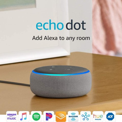 Amazon Echo Dot 3rd Gen Smart speaker 2-Pack