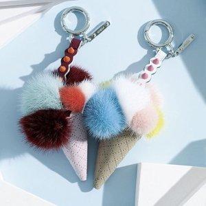 低至5折 冰淇淋毛毛挂饰补货Fendi 精选美衣美包美鞋热卖 颜值满分