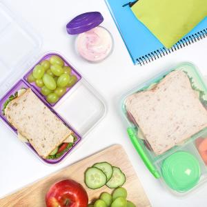 折后€7.99 通勤也能带饭Sistema 午餐便当盒 设计简洁 使用方便 减脂餐做起来