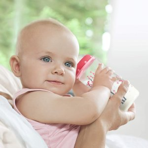 低至8.3折 €19.97起NUK First Choice+ 新生儿宽口奶瓶4件套 多色可选