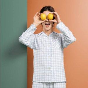低至5折限今天:Femofit 女士睡衣/家居服特卖 收封面日式小清新套装