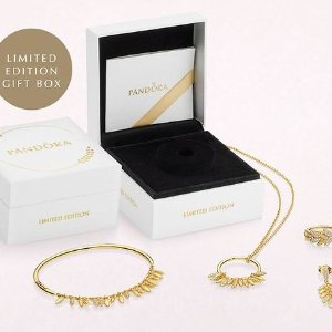 $179起 18K金限量款,随时下架限时供应:PANDORA 精美礼盒装上市