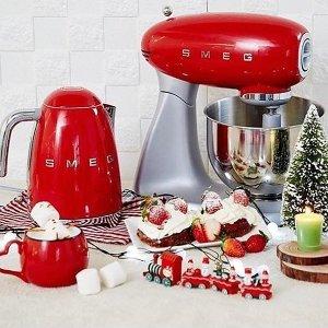 复古正红色系列第一弹:提升厨房幸福指数 厨房小家电