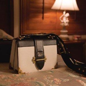 独家最高75折 £418收链条包Prada 新年美包美鞋折扣热卖 款式超全