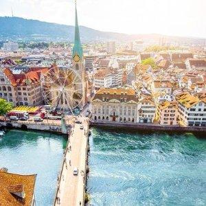 From $372New York to Zurich Switzerland  RT Airfare