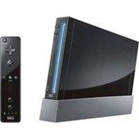 Nintendo Wii 黑色 翻新