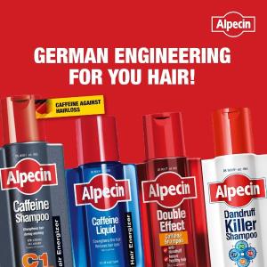 平均€4.5/瓶 搭配防脱液效果更好Alpecin 咖啡因防脱洗发水 每天只要2分钟 给你换头新生