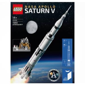 Galeria全场满额立减 相当于8折LEGO 乐高大热款 21309 NASA土星五号限时立减€20 折后仅€95