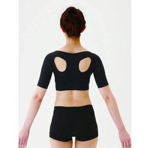 2个直邮美国到手价$40.8气质身形穿出来 日本藤野式 肩乐矫正内衣 日本制 特价