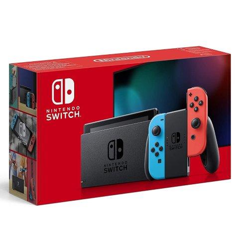 售价€299.99 欧洲多国可邮寄降价:Nintendo Switch游戏机 经典红蓝CP配色惊爆价