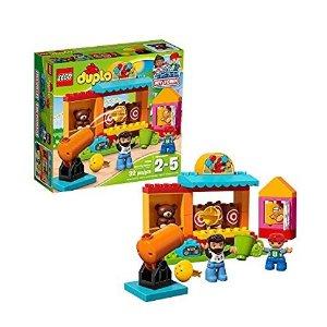 $11.2 (原价$24.99)史低价:LEGO Duplo 小镇系列 射击游乐场 10839,大颗粒