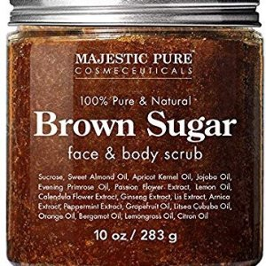 Exfoliating Brown Sugar Body Scrub - Natural Body & Face Scrub - Reduces The Appearances of Cellulite, Stretch Marks, Acne, and Varicose Veins, 10 oz @ Amazon.com