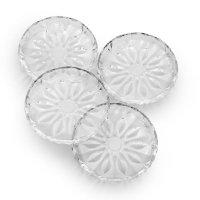 Mikasa 玻璃甜品盘4个
