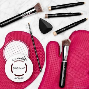 全场9折或满$100减$20最后一天:Sigma Beauty 美妆产品热卖 收晾刷架、万用刷