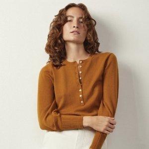 4折起  简约T恤仅£11上新:Everlane 秋冬大促开始 满满的高级感 衣橱必备舒适百搭