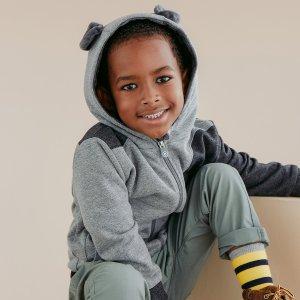 低至7折 可爱公仔可变连帽外套Cubcoats 2合1动物公仔儿童外套多买多减特卖