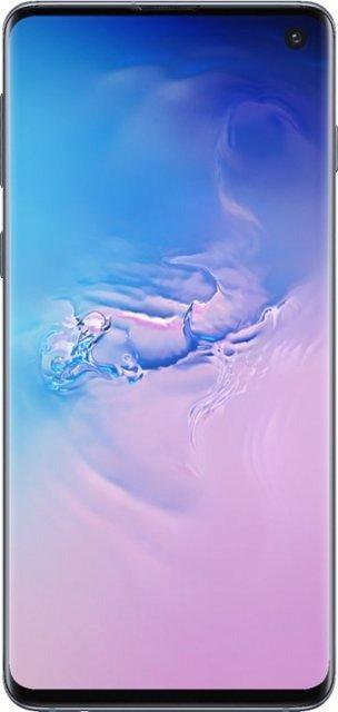 Galaxy S10 with 128GB 智能手机 - 蓝色 (Verizon)