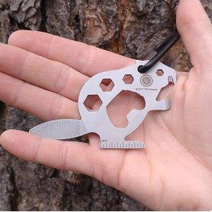 $8.84 锉刀螺丝起子一体UST 海狸造型多功能工具 耐用不锈钢 男生的小浪漫