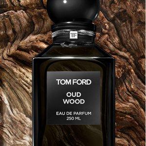 50ml仅€155收 高级木质感Tom Ford 爆款中性香水 Oud Wood 乌木沉香 7.2折特卖 €155起收