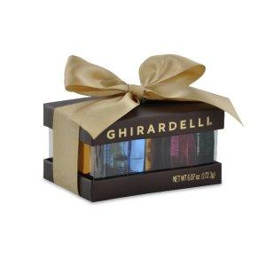 Ghirardelli订单满$60全场8折+免邮!棕色小礼盒 18块巧克力混合装