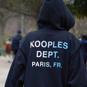 变相2折起 黑色高腰喇叭裤€43.6手慢无:The Kooples 闪促再升级 骨折价收初秋衬衫、外套等
