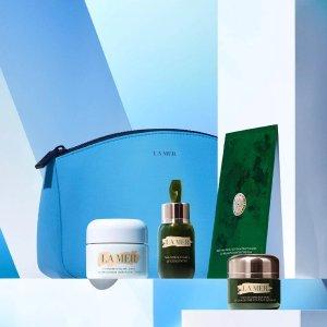 La Mer面霜+眼霜+面膜+精华明星产品4件套