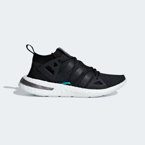 Adidas黑白女士运动鞋