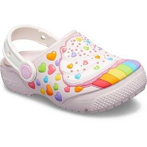 儿童彩虹纸杯蛋糕鞋