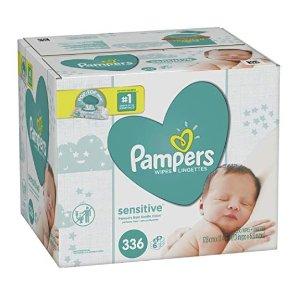 $12.28起Pampers 宝宝湿巾,无香低过敏性
