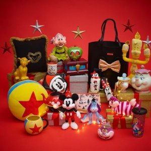 精选圣诞小物低至5折Disney官网 圣诞专场热促 把一整座游乐园搬回家吧