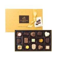 Godiva 金色礼盒15个装