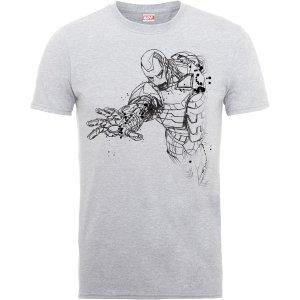 一律7折, $10.49收钢铁侠T恤漫威电影官方授权, 复仇者联盟 T恤 & 卫衣 男女款特卖