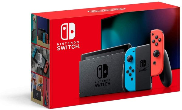 Switch 32GB 续航增强版 红蓝