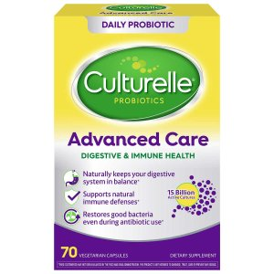 culturelle Advanced Care Digestive & Immune Health Probiotic, 70 Vegetarian Capsules