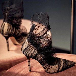 低至7.5折 蕾丝款$419Jimmy Choo 美鞋热卖 收仙女高跟鞋