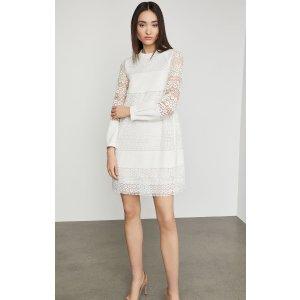 BCBGMAXAZRIACircle Lace Shift Dress