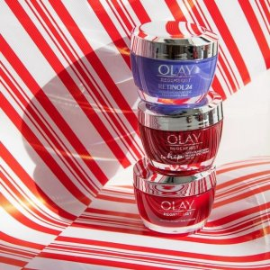 7.5折 $3.99起Olay 经典大红瓶 含烟酰胺 高性价比抗老面霜 紫瓶A醇 去皱淡纹