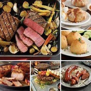 牛排家庭套餐 含22份新鲜食材