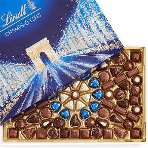 Lindt满$50立享5折香榭丽舍巧克力90颗礼盒