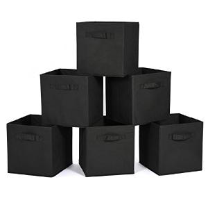 $10MaidMAX 家用可折叠收纳箱 黑色 6个装