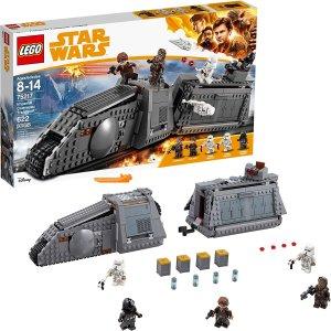 现价$59(原价$109.99) 免邮LEGO 乐高 75217 星球大战 帝国列车套装 622块