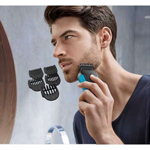 史低价 $57.06(原价$84.99)Braun 3010BT 3合1干湿两用电动剃须刀