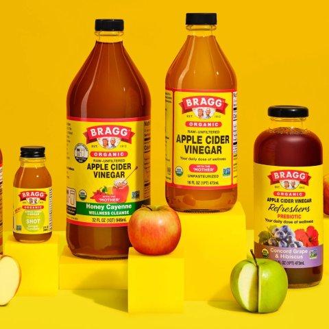 售价€15.99 收帕梅拉同款Braggs 减脂通便苹果醋 0糖0脂 排毒降血脂 每天喝每天瘦